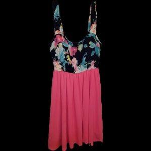 👗A'Gaci A'Gaci👗 Floral & Neon Dress👗